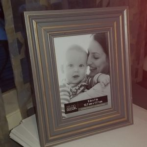 Distressed Grey picture frame